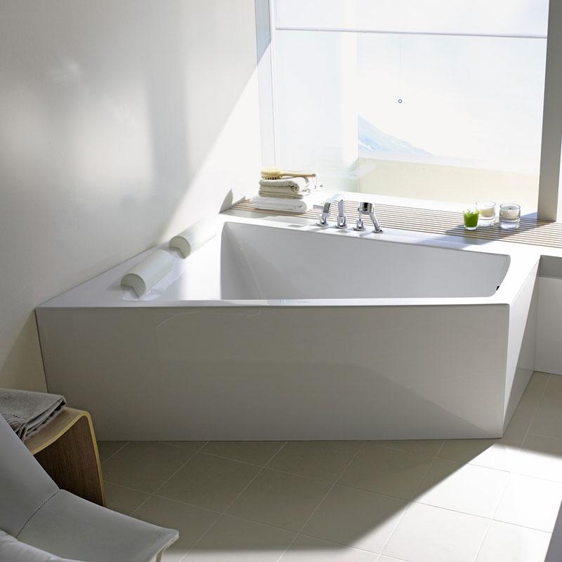 baignoire asym trique paiova 170 180 cm tablier. Black Bedroom Furniture Sets. Home Design Ideas