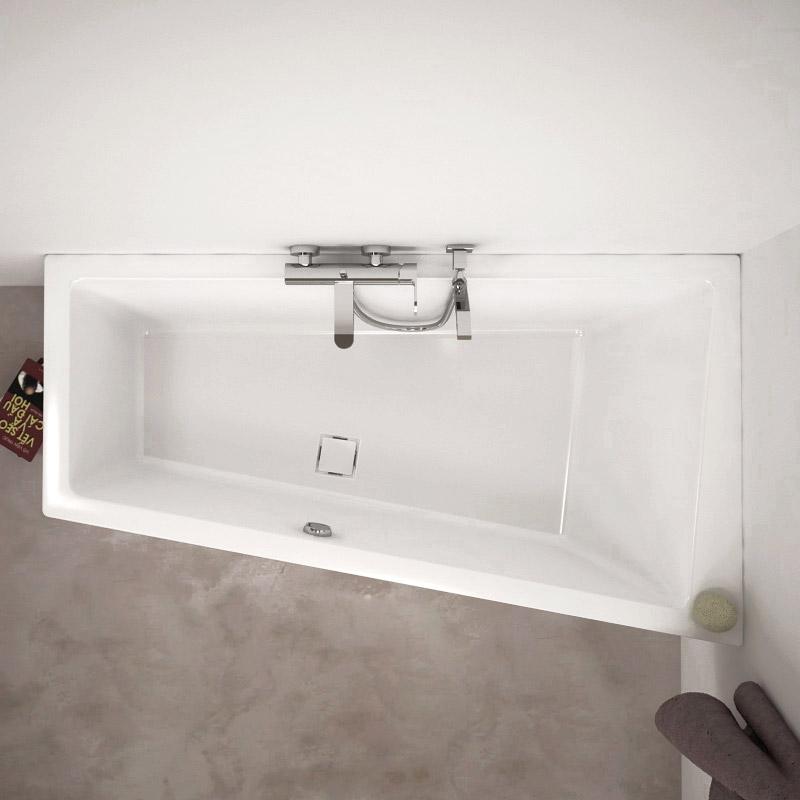 baignoire d angle asym trique ladiva de aquarine pictures. Black Bedroom Furniture Sets. Home Design Ideas