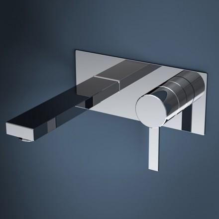 robinet mitigeur lavabo mural 20 cm nova. Black Bedroom Furniture Sets. Home Design Ideas