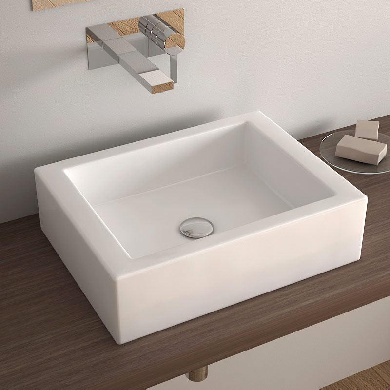 Une salle de bain est equipee dune vasque une salle de bain est quip e d va - Poser une vasque salle de bain ...