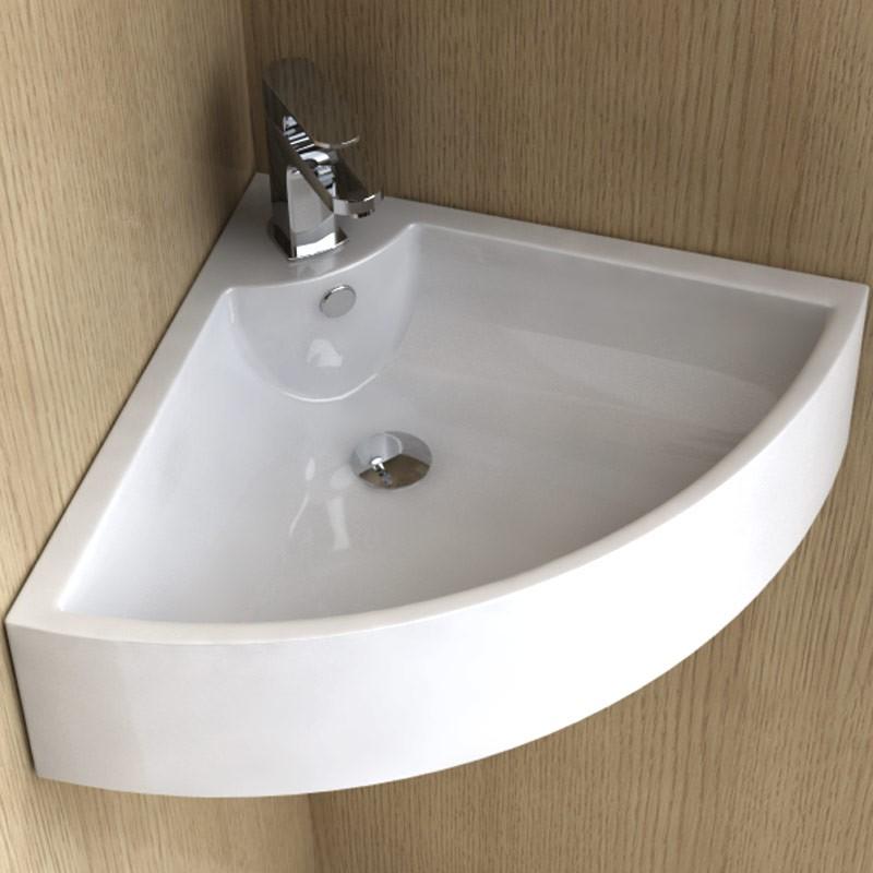 Esthétisme et confort : lavabo dangle pure 48 cm