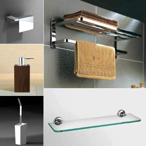 Accessoires de salle de bain for Accessoire decoration salle de bain