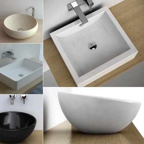 Vasque poser for Poser une vasque salle de bain