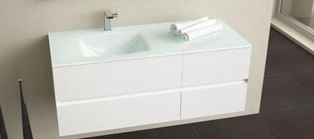 meuble salle de bain glass. Black Bedroom Furniture Sets. Home Design Ideas
