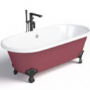 Comment peindre une baignoire en fonte ?