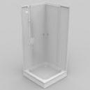 Comment positionner une cabine de douche sur un receveur ?
