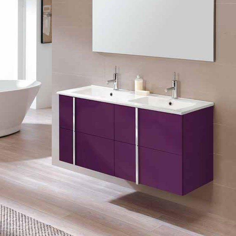 Meuble salle de bain 120 cm 4 tiroirs vasque c ramique onix for Meuble de salle de bain mobalpa