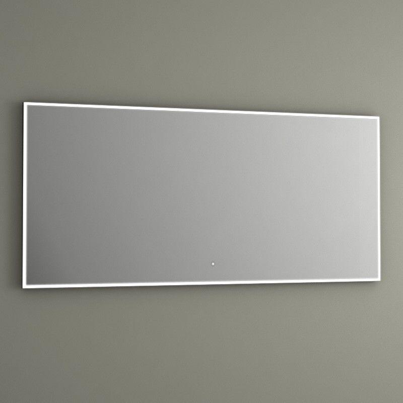Pack Promo Meuble Glass 150 Blanc Mitigeurs Miroir