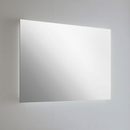 miroir lumineux led blanc salle de bain horizontal ou vertical 80x60 cm. Black Bedroom Furniture Sets. Home Design Ideas