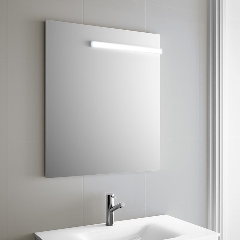 Miroir salle de bain 50x80 cm horizontal ou vertical firenze - Specchio bagno 90x80 ...