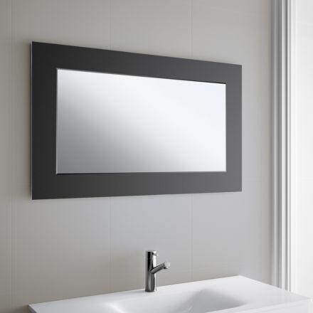 Installer miroir salle de bain maison design for Miroir horizontal ikea