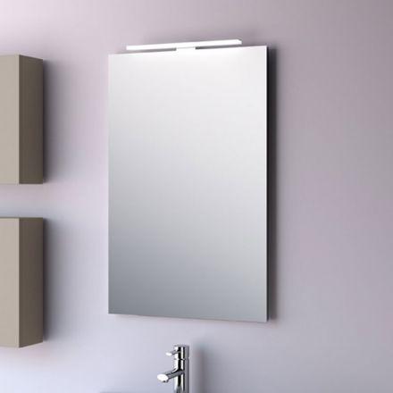 Miroir salle de bain 50x80 cm horizontal ou vertical firenze for Miroir horizontal blanc