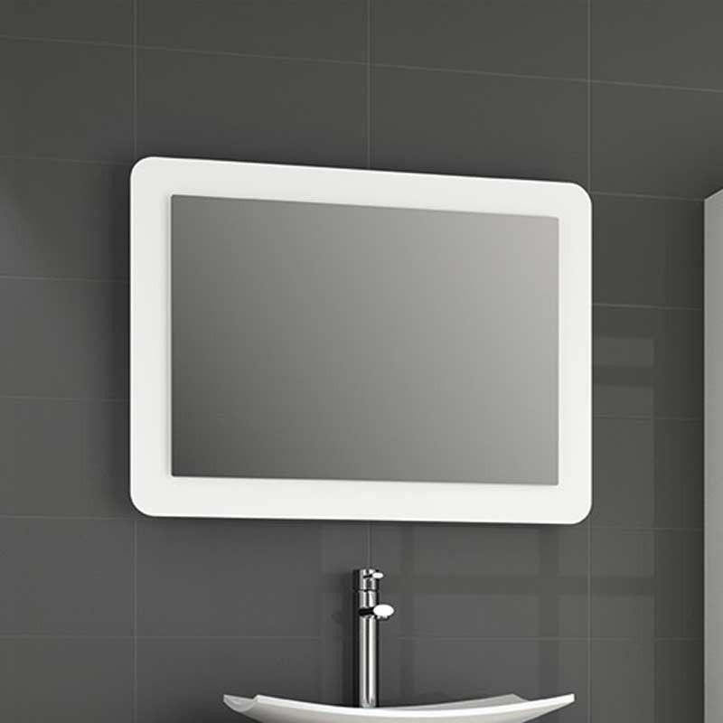 Miroir lumineux led salle de bain de 80 95 x 60 cm for Eclairage miroir salle de bain led