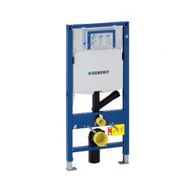 Bâti-support WC Geberit Duofix Sigma 12 cm, Aspiration des odeurs en Applique