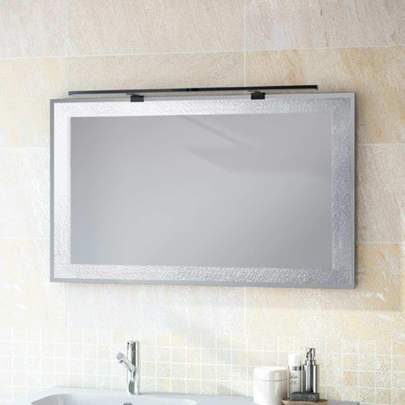 Miroir salle de bain 80x60 cm horizontal ou vertical for Miroir 120x80