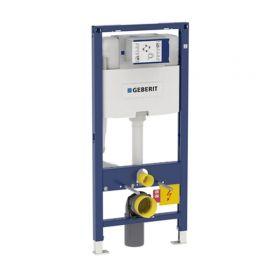 Bati-support WC Geberit Duofix Omega 12 cm, hauteur 112 cm, en applique