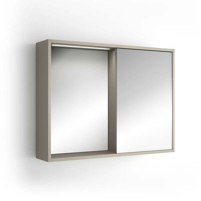 Armoire de toilette clairante portobello 80 cm for Armoire de toilette salle de bain