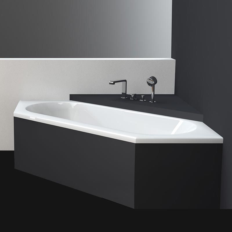 baignoire en acier maill 188 210 cm bettestarlet hexa. Black Bedroom Furniture Sets. Home Design Ideas