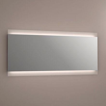 miroir lumineux led salle de bain anti bu e 150x70cm. Black Bedroom Furniture Sets. Home Design Ideas
