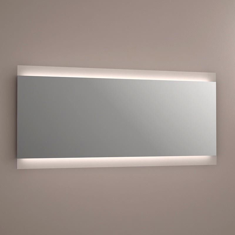 Miroir lumineux led salle de bain anti bu e 150x70cm for Miroir 150 x 100