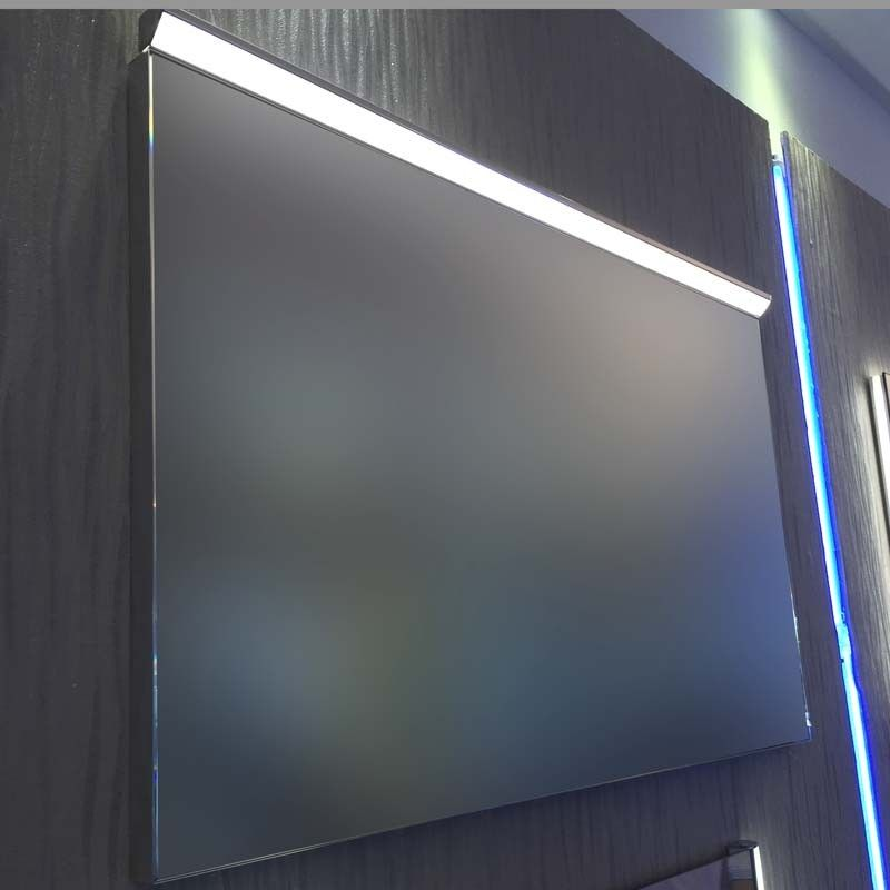 miroir lumineux led salle de bain anti bu e 80x60cm. Black Bedroom Furniture Sets. Home Design Ideas