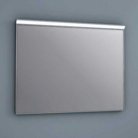 Miroir lumineux led salle de bain anti bu e 80x60cm - Miroir salle de bain lumineux anti buee ...
