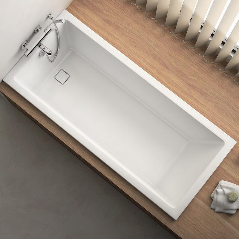 baignoire rectangulaire 170x75 cm acrylique cavallo. Black Bedroom Furniture Sets. Home Design Ideas