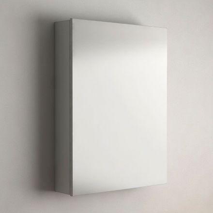armoire de toilette finition gris 60 cm madrid. Black Bedroom Furniture Sets. Home Design Ideas