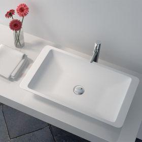 Vasque minéral à poser 60x35 cm