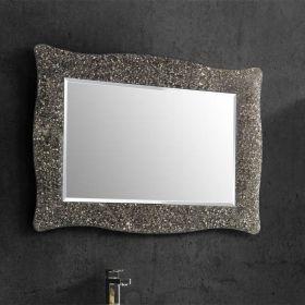 Alexandra, miroir salle de bain 98X70 cm, cadre bronze