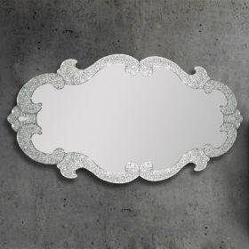 Miroir Elodie, 150x85 cm , granité transparent
