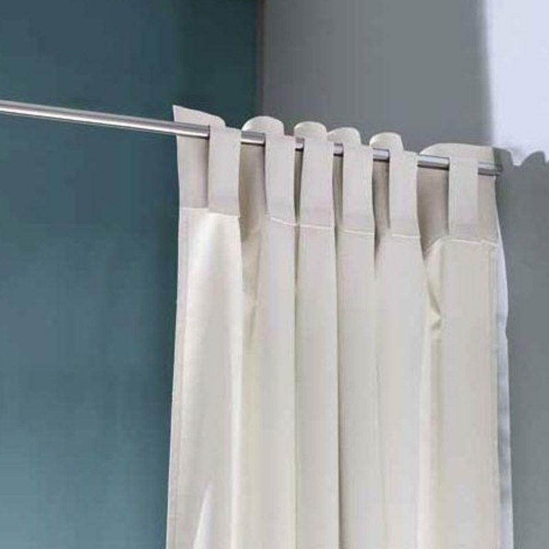 rideau de douche blanc sincero. Black Bedroom Furniture Sets. Home Design Ideas