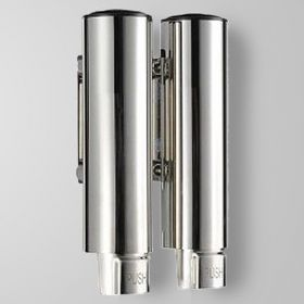 Distributeur de savon liquide double Soap-T en acier inox 304
