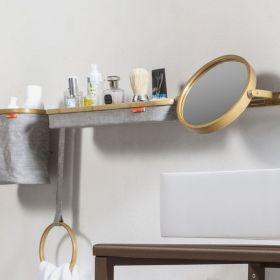 Rack porte objets en bambou horizontal, Ordina