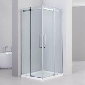 Cabine de douche coulissante, 80 à 100 cm, Merida