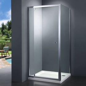 Cabine de douche, 90x90 cm, Malaga