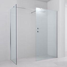 Paroi de douche fixe, réglable de 150 à 190 x 90cm, Altea