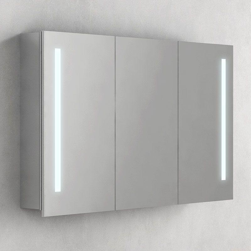 Armoire de toilette éclairante Glass 100 cm