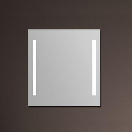 miroir lumineux salle de bain anti bu e 75x80 cm. Black Bedroom Furniture Sets. Home Design Ideas