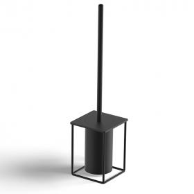 Porte-balayette à poser - Noir mat - Infinity elegance