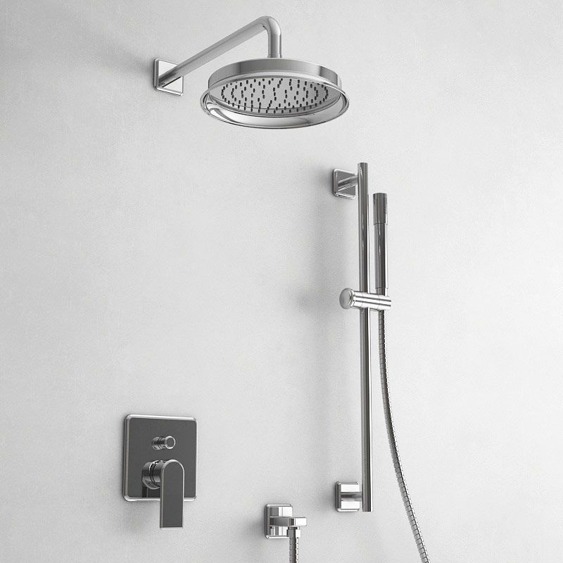 Pack douche à encastrer mitigeur, chromé, Monceau