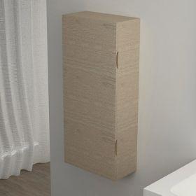Demi-colonne de rangement Flex Chêne blanchi, 90x40 cm