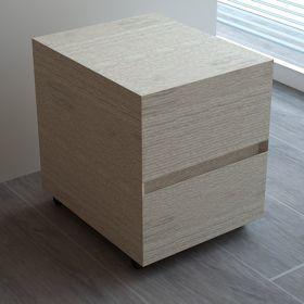 Roller Flex Chêne blanc 45x40x50 cm