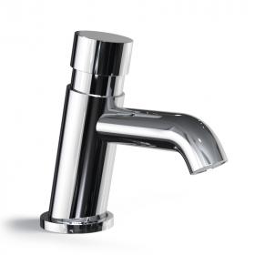 Robinet lave-mains temporisé chromé eau froide, Ill