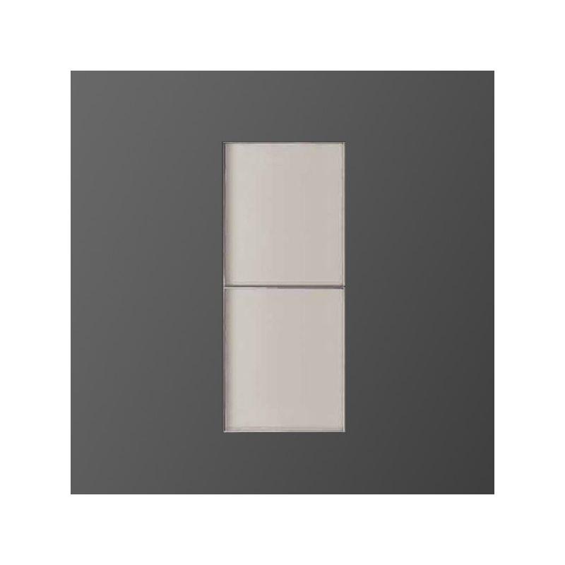 Compo one element haut bois 1 porte vitr e - Element haut salle de bain ...