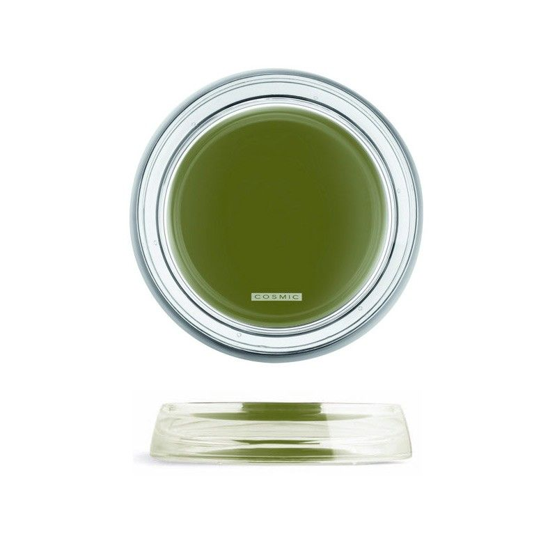 Porte savon drop vert for Porte savon salle de bain