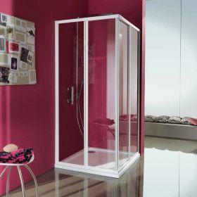 Cabine de douche coulissante en angle Ciao, 64 à 90 cm