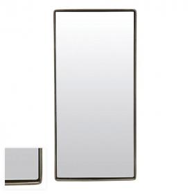 Miroir avec cadre métal argent vieilli, Réflection