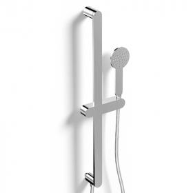 Set de douche avec barre, chromé, Infinity Flow