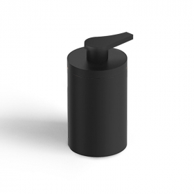 Distributeur de savon à poser noir mat, Infinity Flow